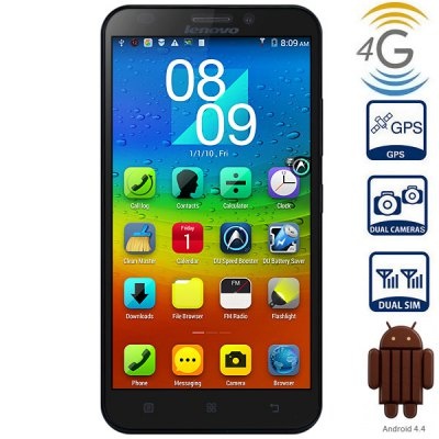Lenovo A916 Android 4.4 4G Phablet