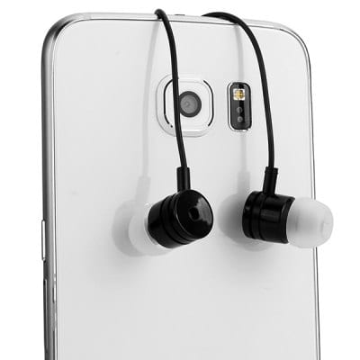 LANDVO S6 1.2m Cable In ear Earphone 3.5mm Jack Handfree Headphone with Mic and Volume Control Button