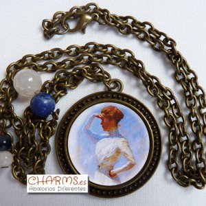 Collar Vintage Bronce Mod. 3400035