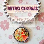 Pulsera elastica de bolitas Hada Vintage