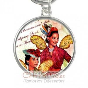 Medalla para pulsera estilo vintage Mod 040001001