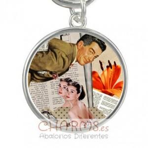 Medalla para pulsera estilo vintage Mod 040001008