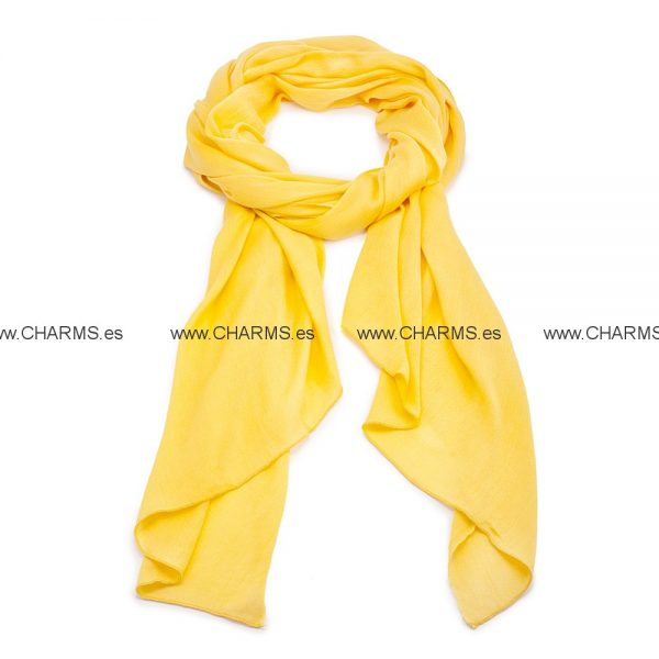 CANARY Amarilla bufanda Folli Follie