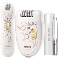 Depiladora + Bikini + Pinzas con luz Philips HP 6540/00