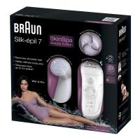 Depiladora+ cepillo facial Braun Silk epil 7 - 7-929 Skin Spa