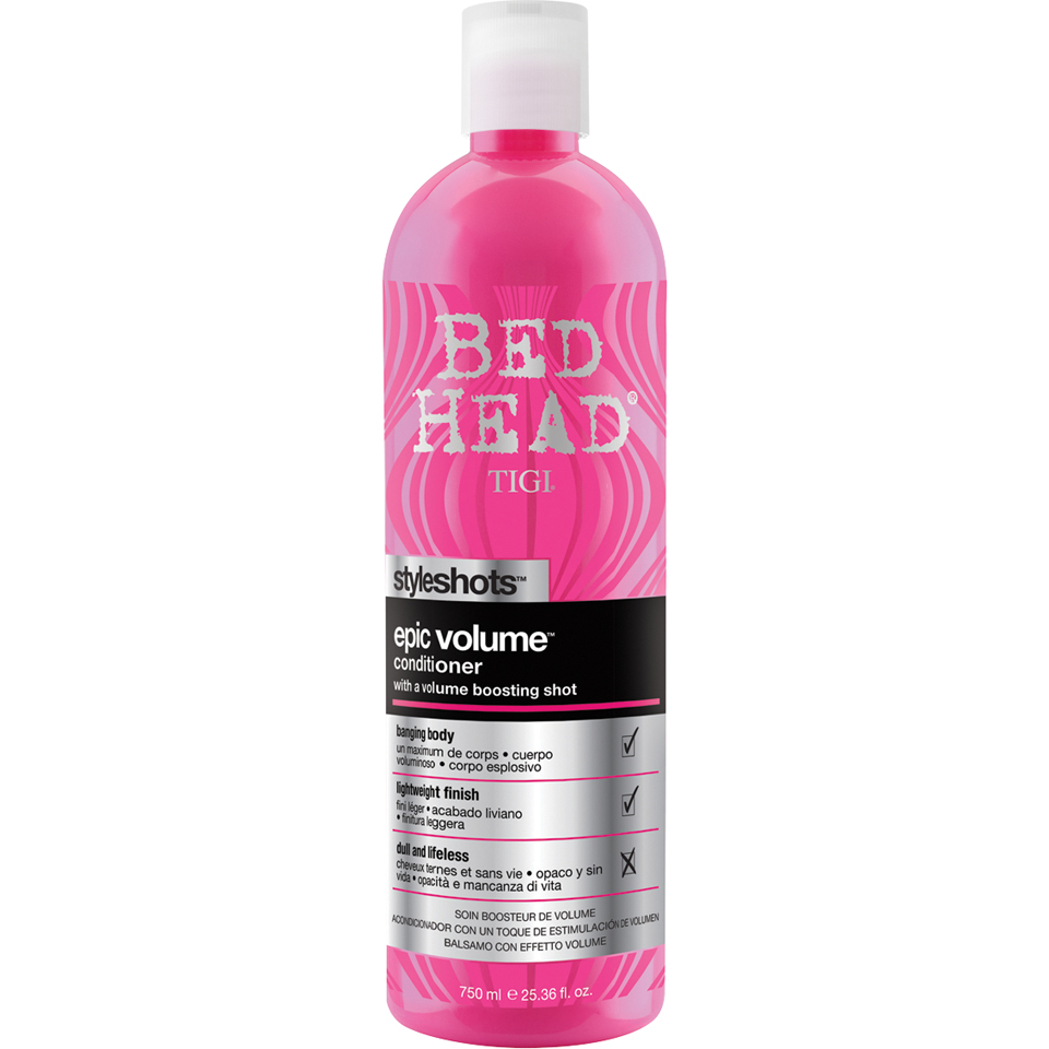 Acondicionador volumen Tigi Bed Head Epic Volume Styleshots - 750ml