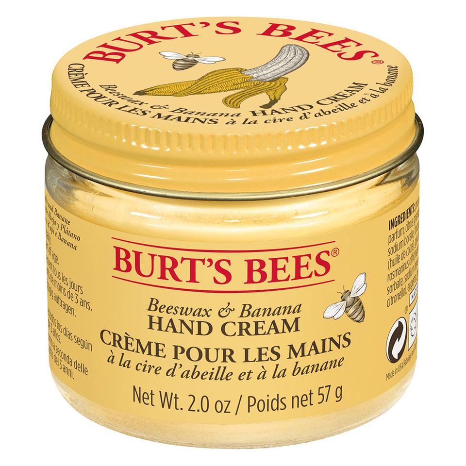 Crema de manos Burt's Bees - Cera de abeja y platano (57g)