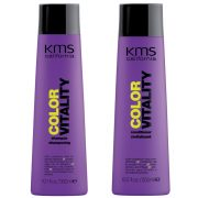 Duo productos fijacion de color KMS California Colorvitality Pack (2 productos)