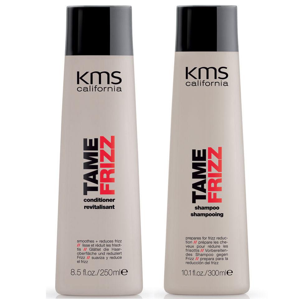 Duo champu y acondicionador antiencrespamiento KMS California TameFrizz