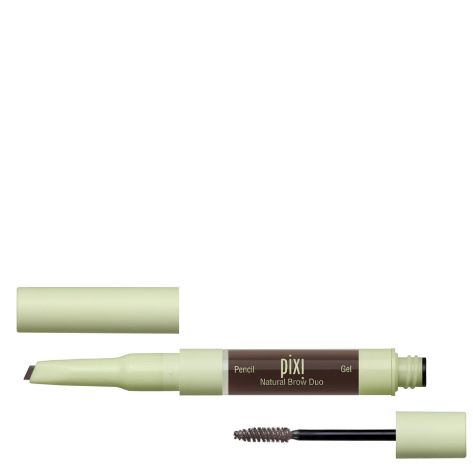 Pixi Natural Brow Duo - Deep Brunette