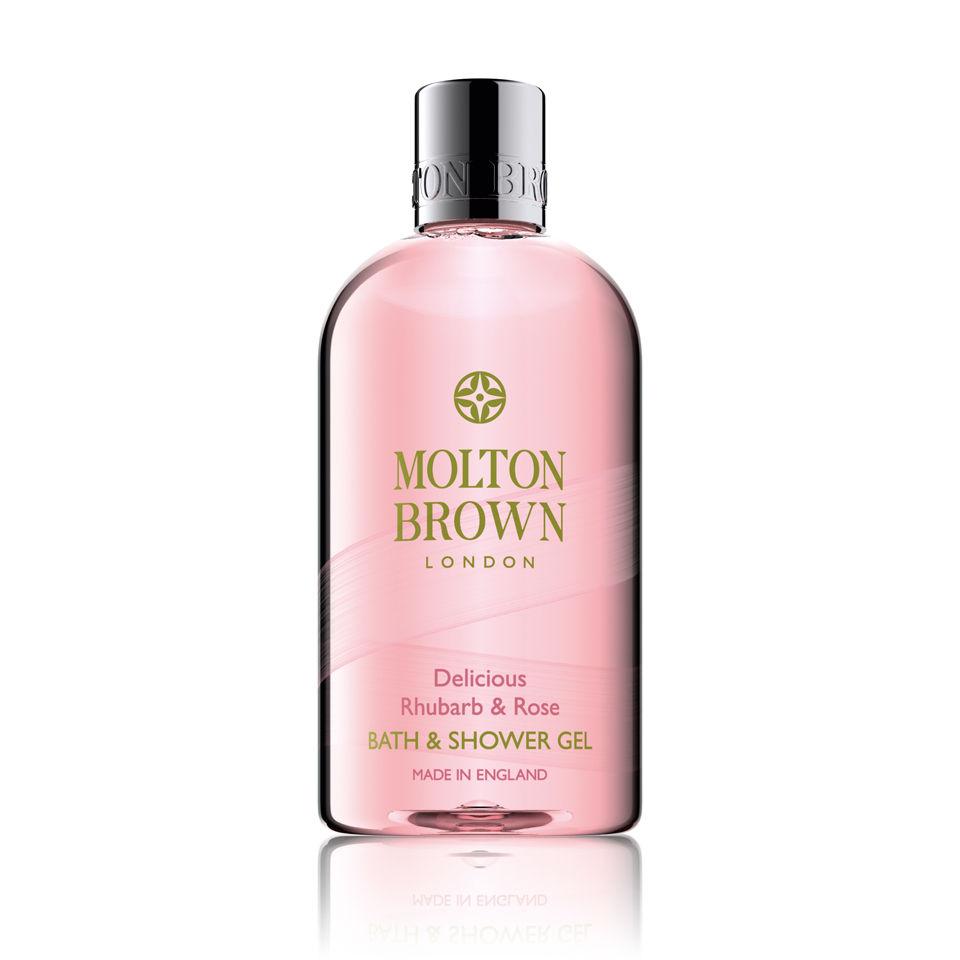 Gel corporal de ruibarbo y de rosa Molton Brown (300ml)