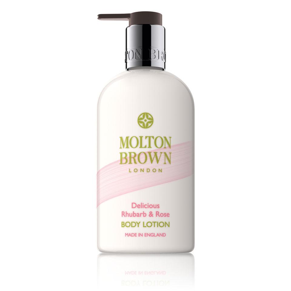 Locion corporal de ruibarbo y de rosa Molton Brown (300ml)