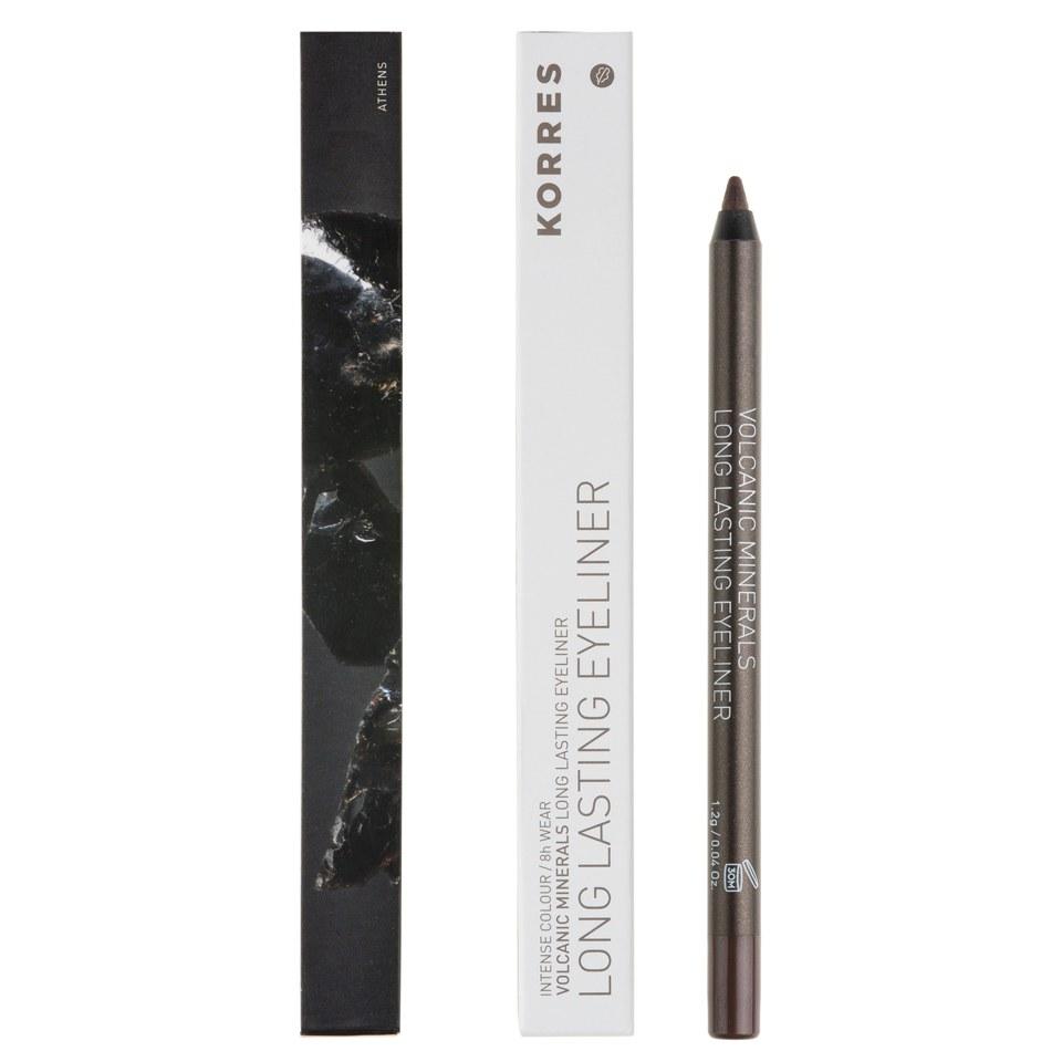 Korres Colour Volcanic Minerals Eye Pencil - 03 Metallic Brown