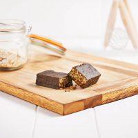 Barrita Crujiente de Chocolate y Caramelo