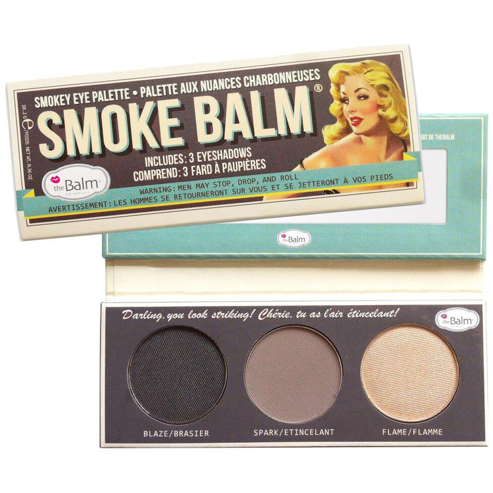 Paleta de Sombras para Ahumado theBalm Smoke Balm Set 1