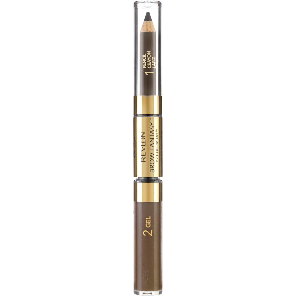 Revlon Fantasy Brow Pencil and Gel - Dark Brown