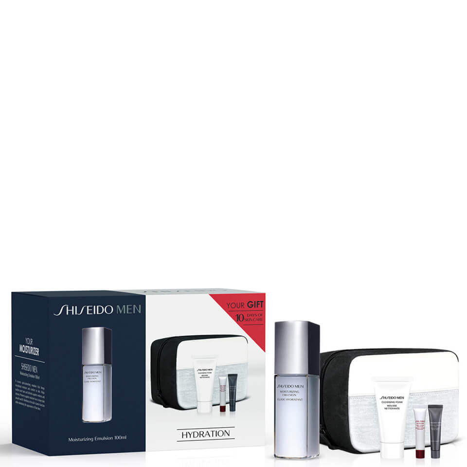 Shiseido Men's Moisturizing Emulsion Kit