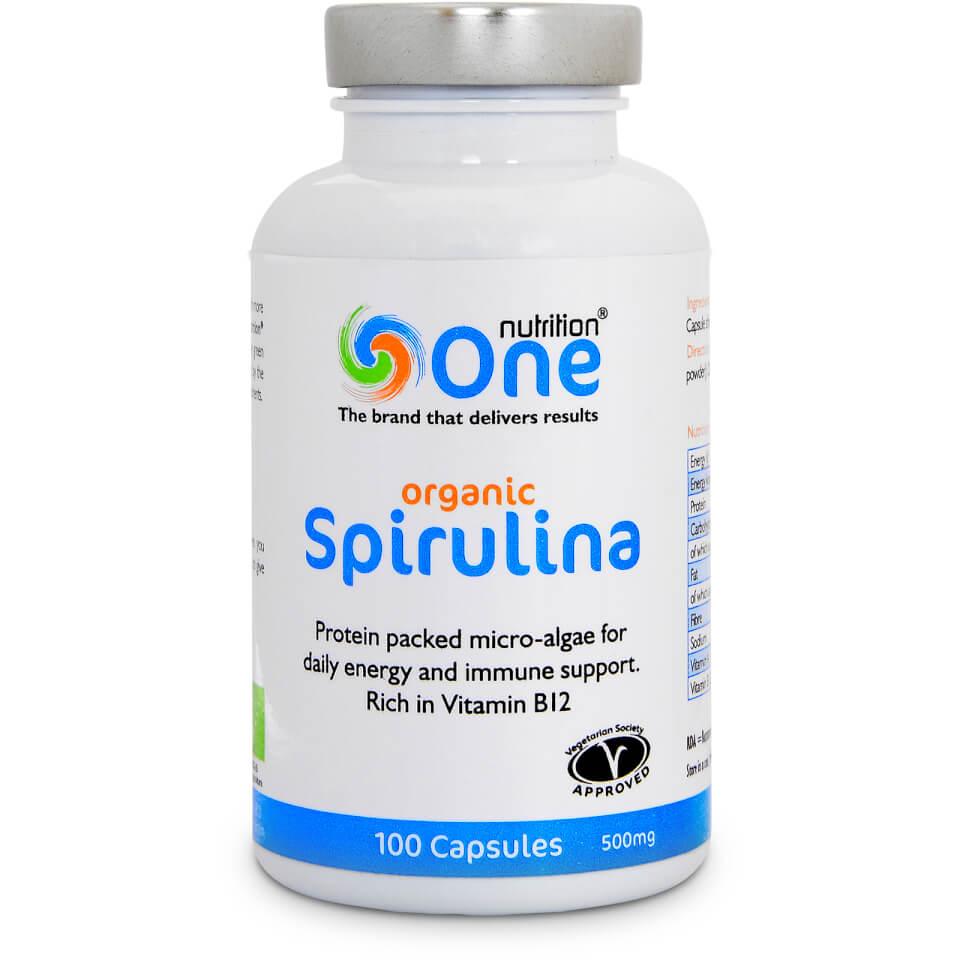 Spirulina Organic - 100 Vegecaps (500mg)