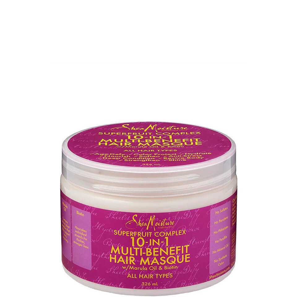 Shea Moisture Superfruit Complex 10 in 1 Renewal System Hair Masque 326ml