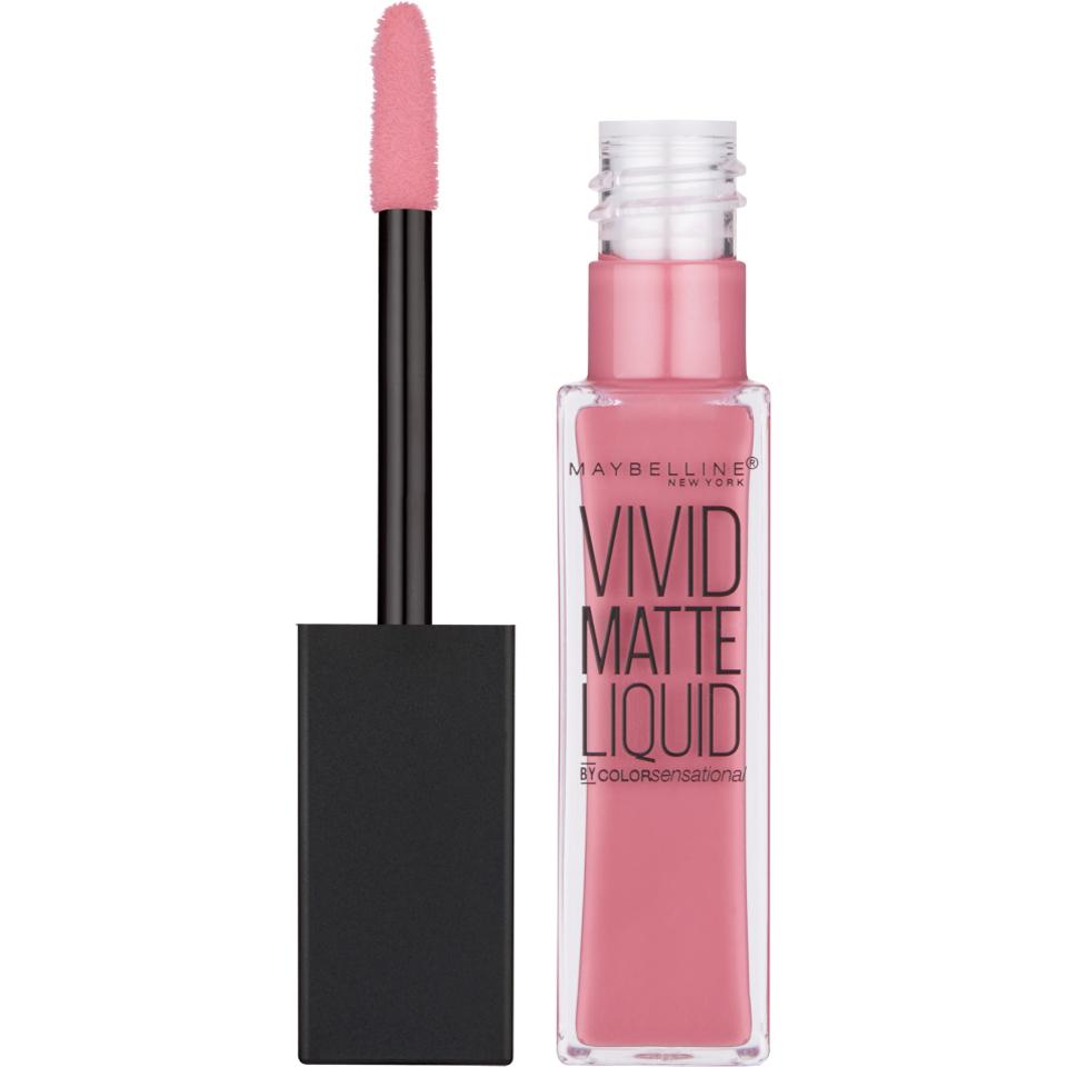 Maybelline Color Sensational Vivid Matte Liquid Lipstick - 50 Nude Thrill