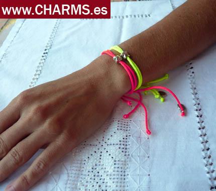 fornituras pulseras colores