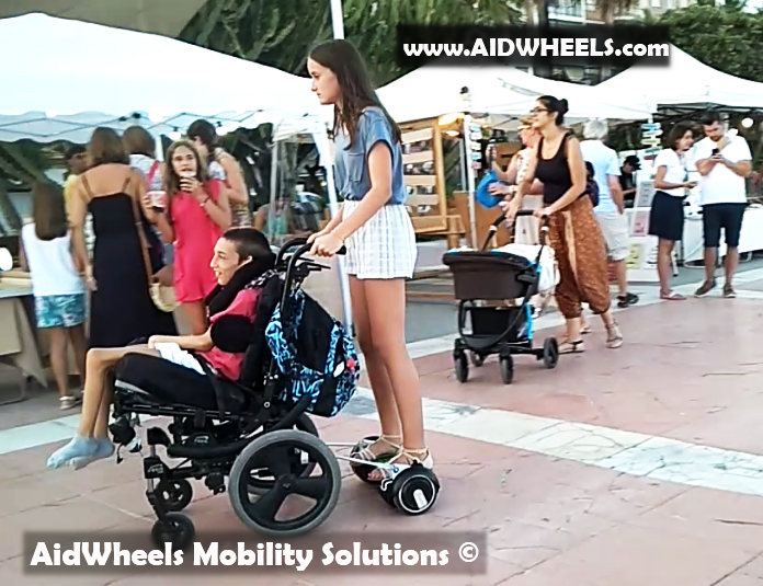 hoverboard silla de ruedas