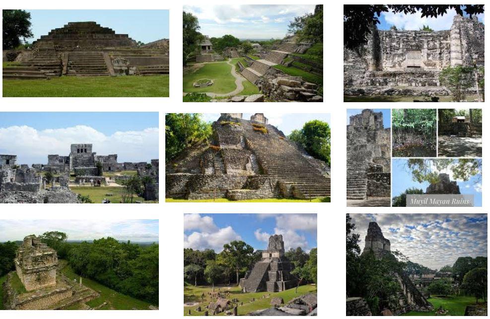 turismo aventura ruinas mayas