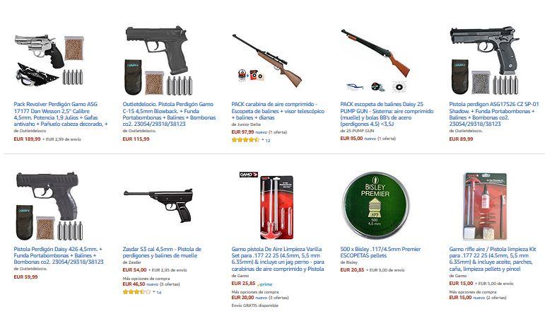 oferta escopetas online