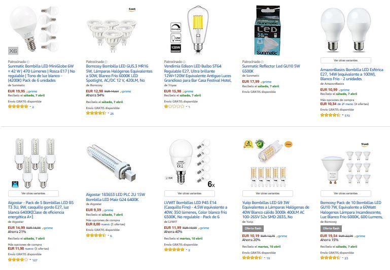 bombillas led mejor compra notizalia