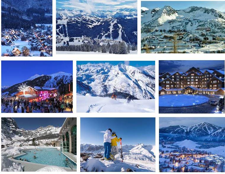 mejores destinos para esquiar en los estados unidos