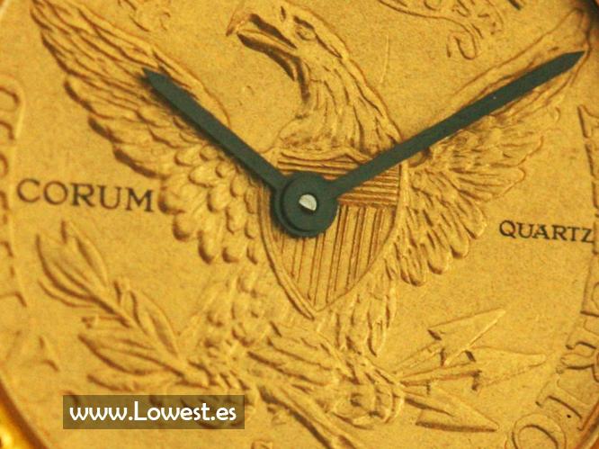 reloj corum moneda