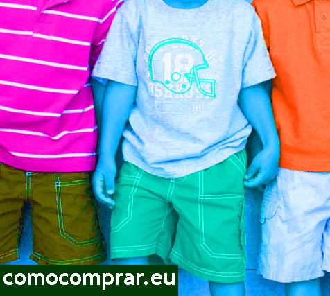 moda niños colores