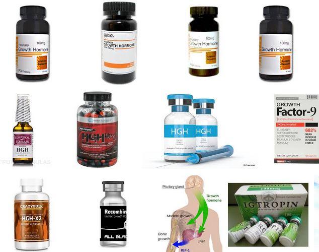 hormona crecimiento humano gonadotropina