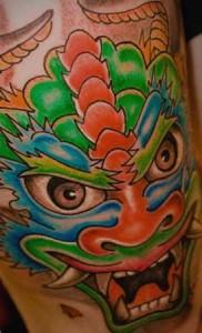 dragon diseño tattoo