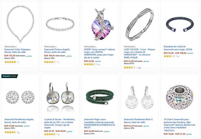 pulseras swarovski mujer colecciones