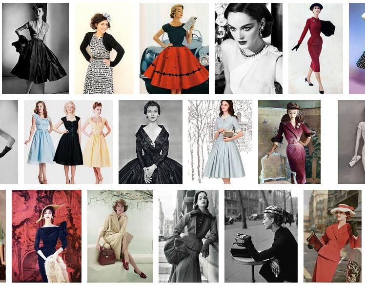 blog de moda mujer años 50