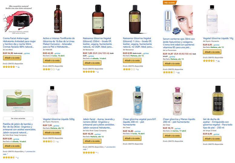 glicerina para la piel notizalia
