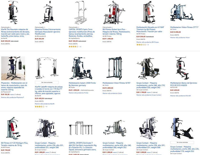 comprar multiestacion fitness gimnasio en casa notizalia