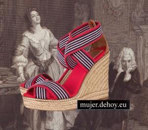 zapatos rojos 2012