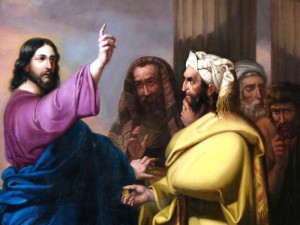 versiculos jesucristo dinero