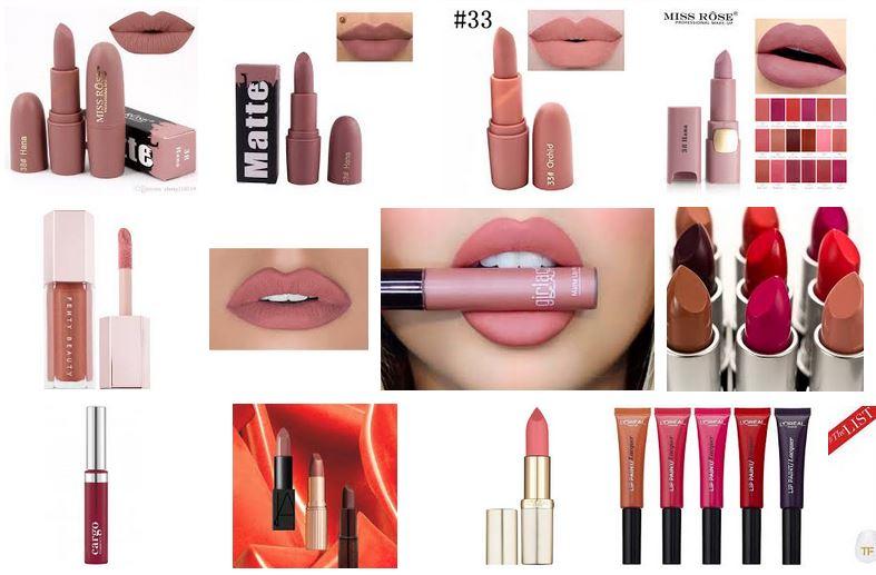 nuevas tendencias en barras de labios lapiz colores que se llevan