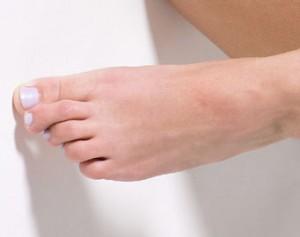 dedo roto pie