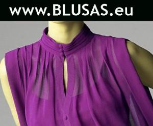 blusa lila añil