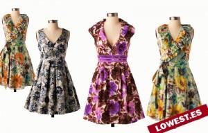 colores estampados vestidos