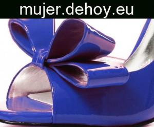 zapatos mujer azules