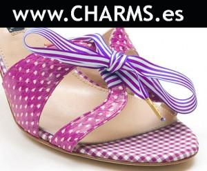 zapatos verano rosas