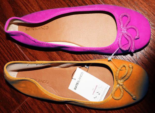 zapatos planos colores