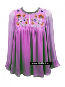 blusas de moda flores