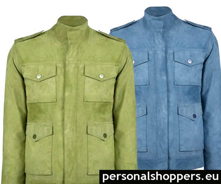 chaquetas ante color