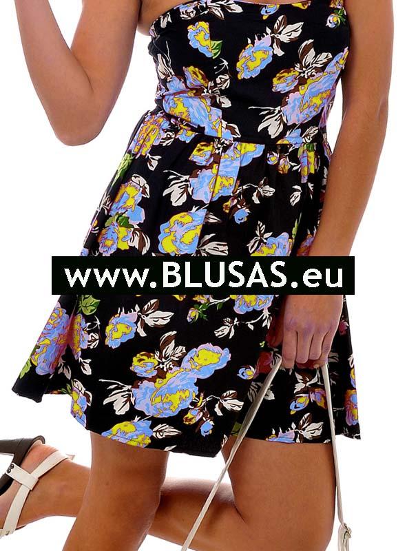 moda vestidos flores